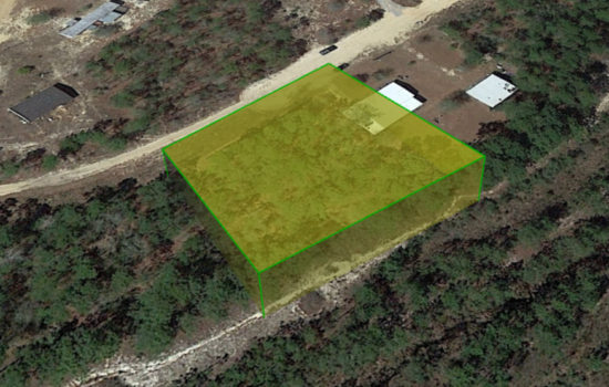 0.61 Acres of Vacant Residential Land and Mobile Home Use in Crestview, Okaloosa, FL – Okal-7HJICAAB